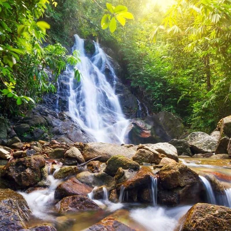 Namtok Sai Rung Waterfall, น้ำตกสายรุ้ง